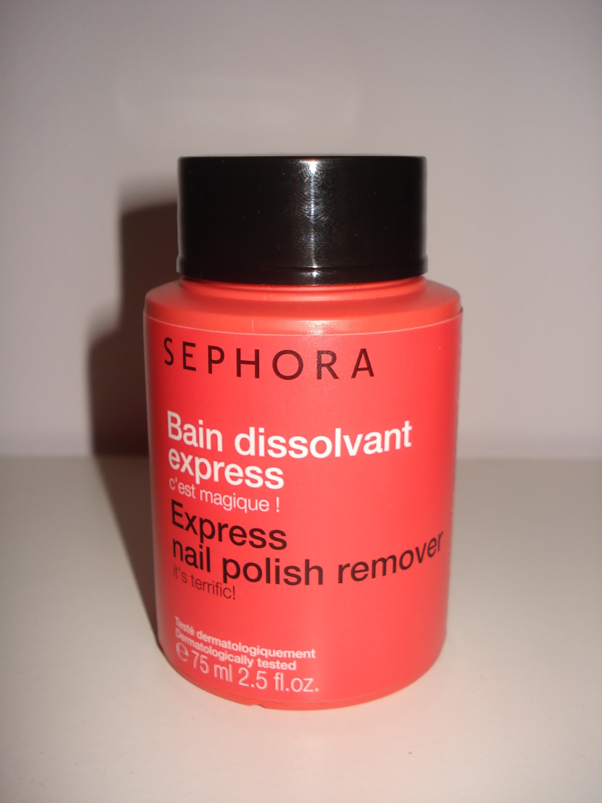 Leave Me On The Catwalk Sephora Nail Polish Remover Is It Magic