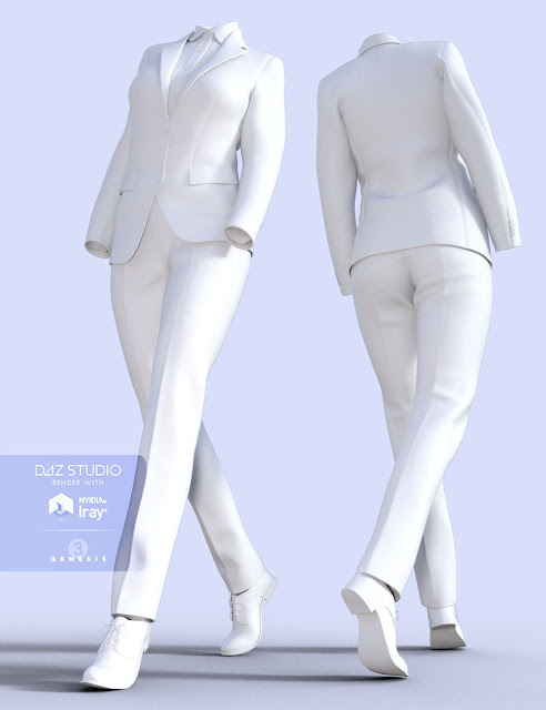 H/C Business Suit for Genesis 3 Female
