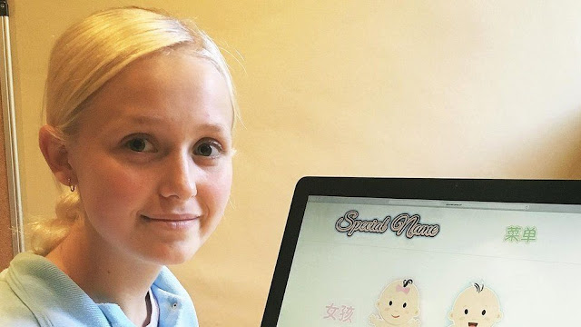 16-Year-Old British Girl Earns £48,000 By Helping Chinese People Name Their Babies. How Is It possible? Find Out Here!