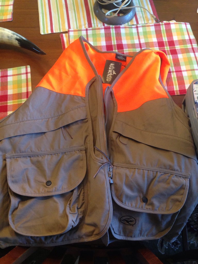 New Redhead Pheasant Vest - Neighborhood Garage Sale Haul