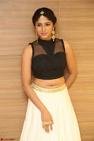 Roshni Prakash in a Sleeveless Crop Top and Long Cream Ethnic Skirt 073.JPG