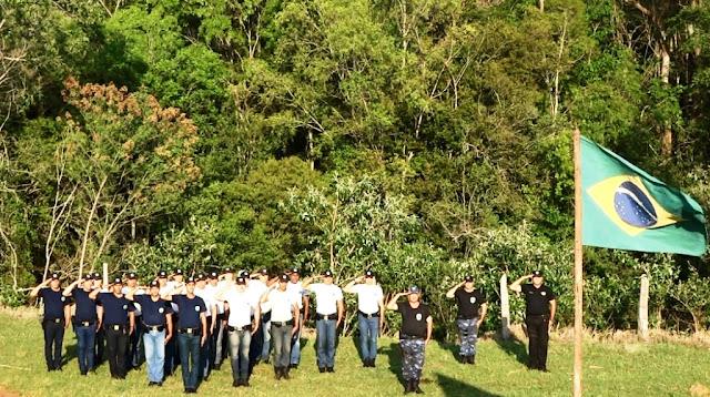 Guarda Civil de Botucatu realiza 1º treinamento operacional em ambiente natural
