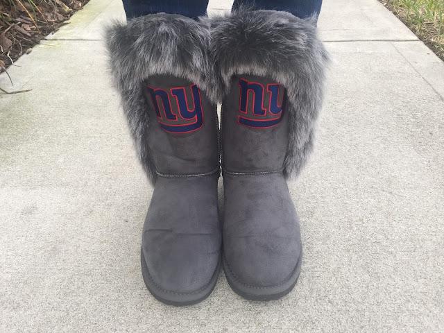 ny giants winter boots