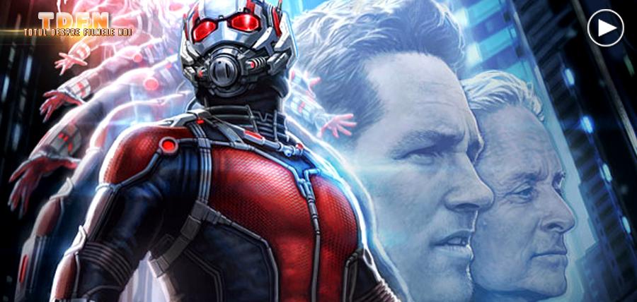 Paul Rudd şi Michael Douglas în Ant-Man