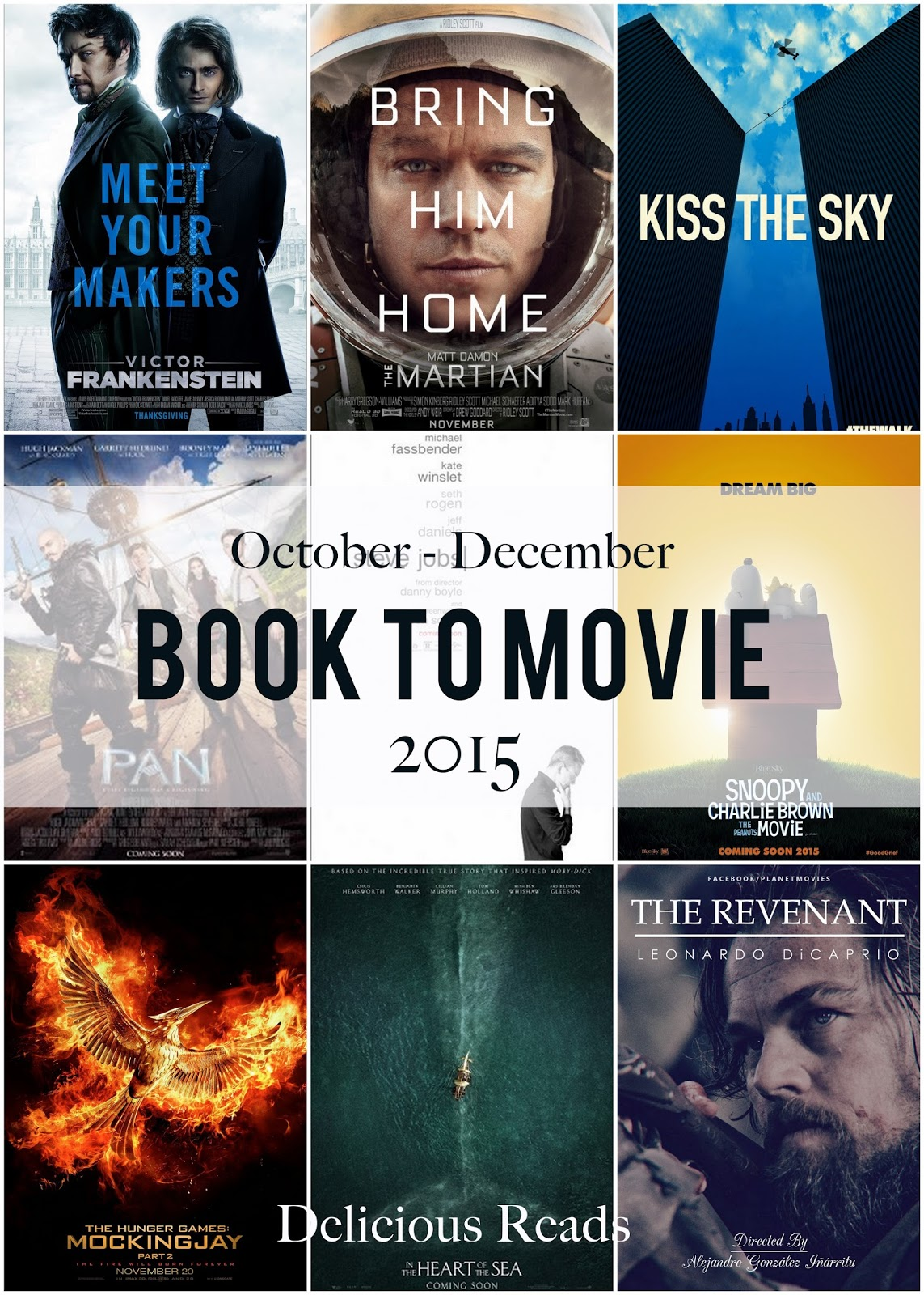 Delicious Reads: 9 Books you Need to Read Before Seeing their Movie