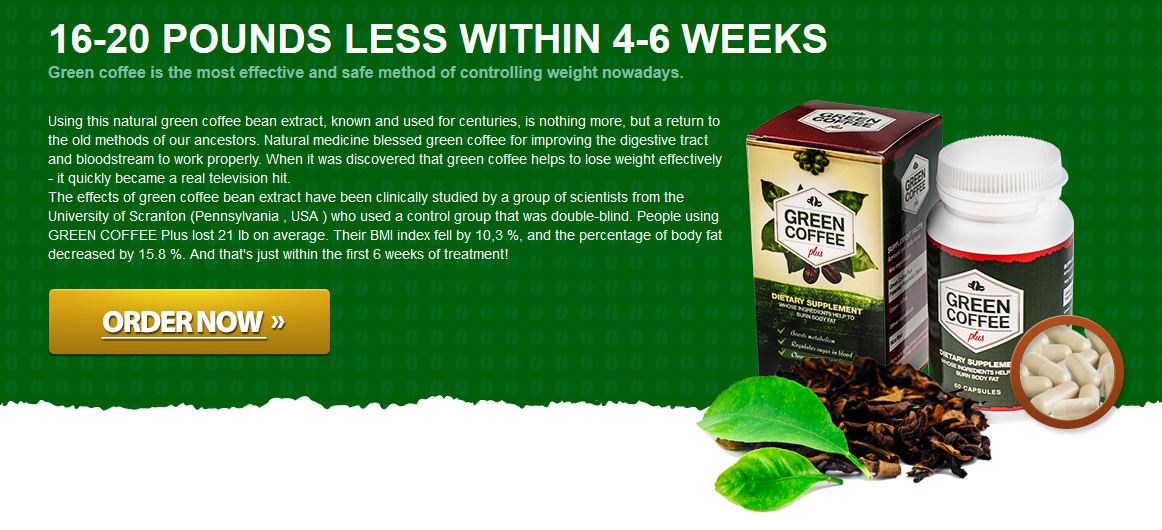 Green coffee is the most effective and safe method of controlling weight nowadays