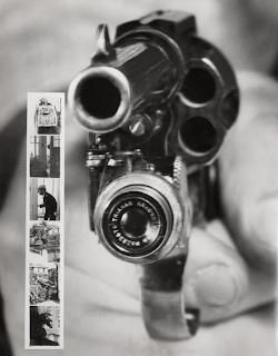 revolver con camara