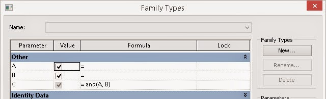 Revit OpEd: Setting Yes No Parameters with Formulas