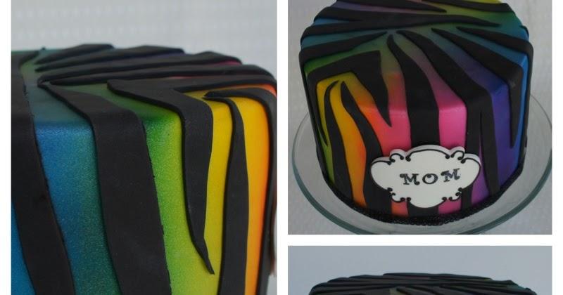 Rainbow Cake Montreal