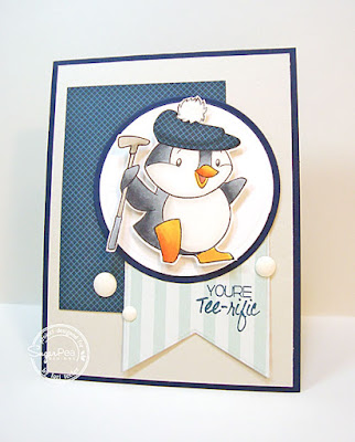 You're Tee-rific card-designed by Lori Tecler/Inking Aloud-stamps from SugarPea Designs