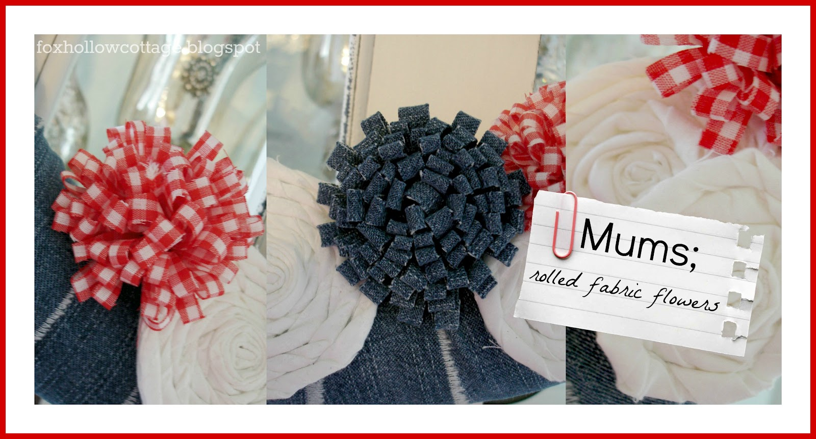 Enjoyable Summer Wreath In Patriotic Red White And Blue Denim Fox Hollow Hairstyle Inspiration Daily Dogsangcom