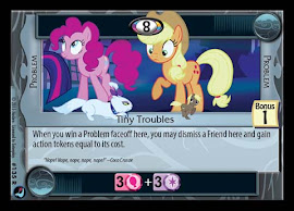 My Little Pony Tiny Troubles High Magic CCG Card