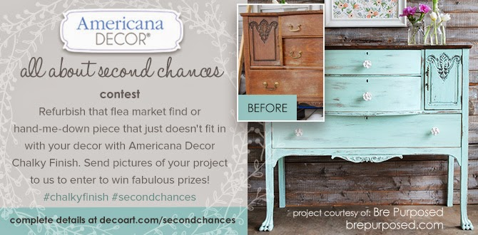 Funky Junk: Painting Furniture With Deco Art Chalky Finish