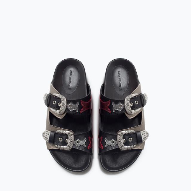 Zara Cowboy Sandals