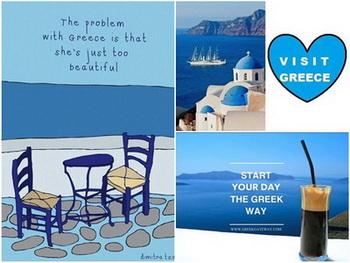 Tempat wisata di yunani santorini mykonos pulau paling indah di Yunani
