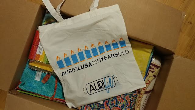 Aurifil thread tote bag