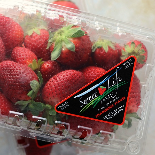 Florida Strawberries for Strawberry Apple Salsa