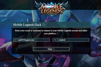Script Phising Mobile Legends Generator Tembus V2L V2 Terbaru 2017