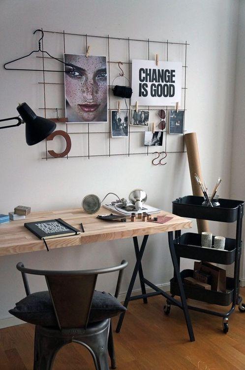 decoração de home office moderno