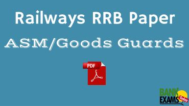 Rrb Asm Model Papers 2016 Pdf