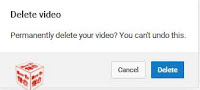 deleted videos in you tube