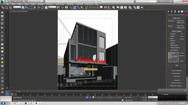 Đào tạo Đồ họa kiến trúc ( 3DMAX - AUCAD - REVIT - SKETCHUP - PHOTOSHOP ) ngắn hạn tại TP.HCM - 30