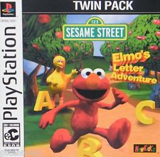 Sesame Street - Elmos Letter Adventure - PS1 - ISOs Download