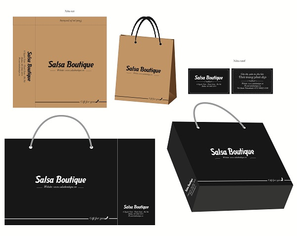 mẫu in túi giấy thời trang