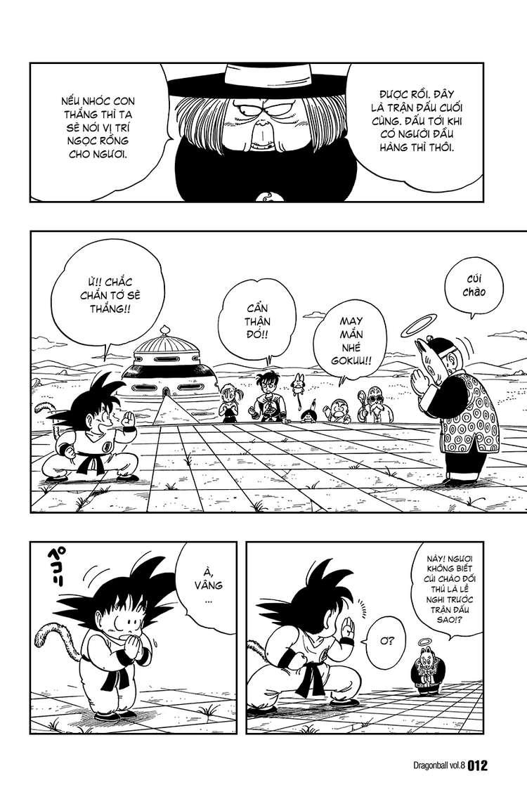 Dragon Ball chap 105 trang 8