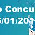 Resultado Federal Concurso 05247 (06/01/2018)