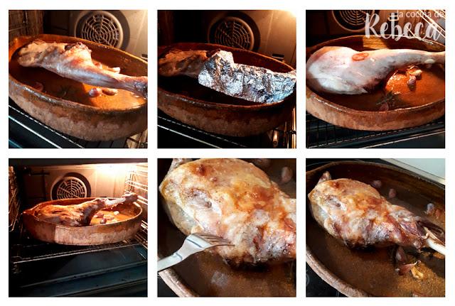 Receta de paletilla de cordero: el horneado