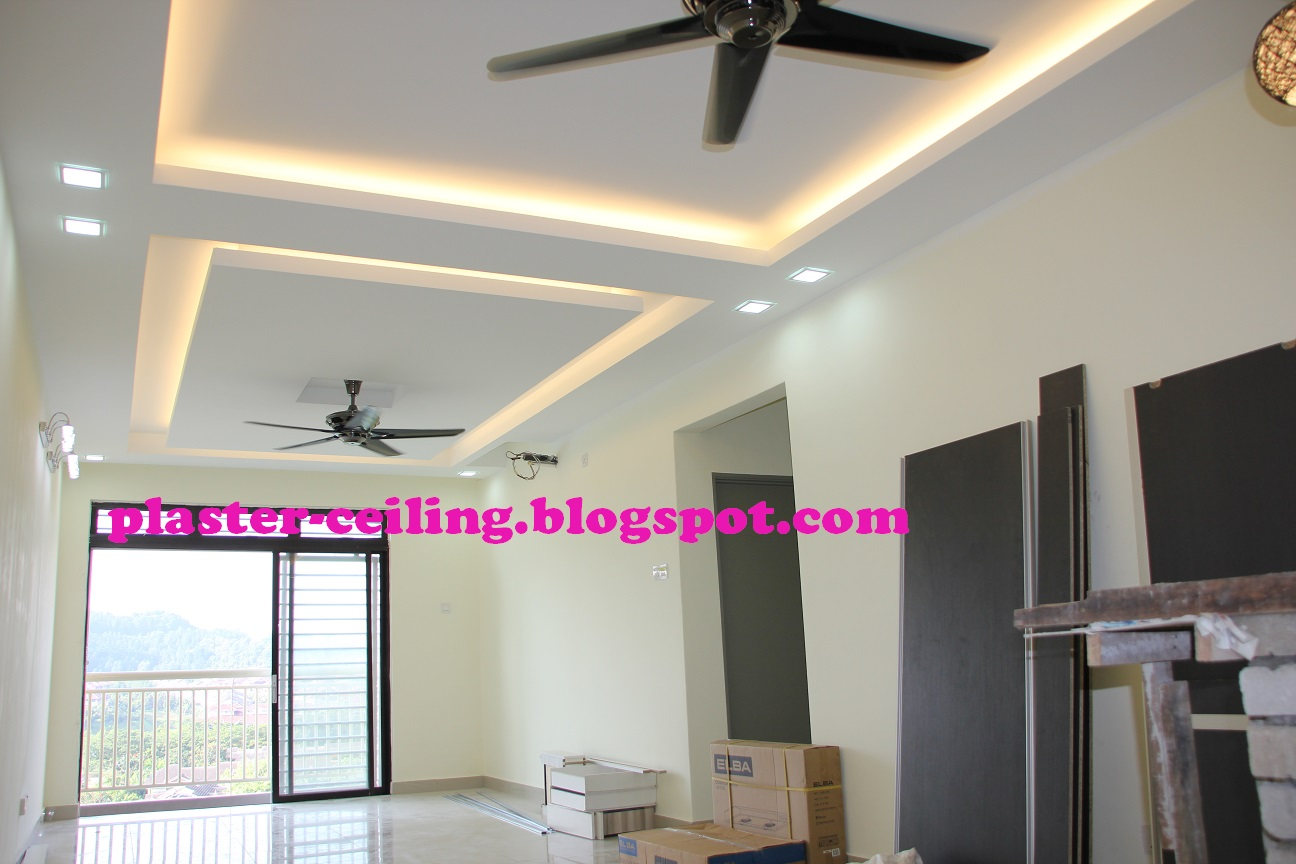 how to put plaster on ceiling