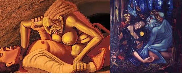 Makhluk Gaib dan Mitologi yang Gemar Berhubungan Cinta dengan Manusia