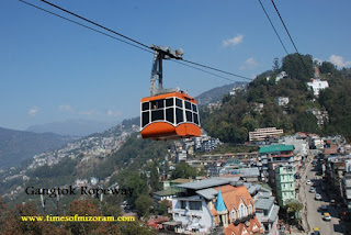 ROPEWAY AND SKYWALK IN MIZORAM