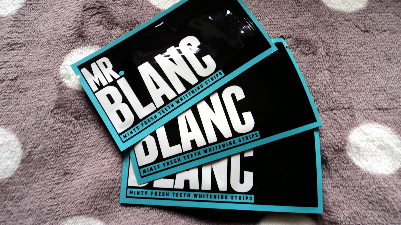 Mr. Blanc Teeth Whitening Strips Review