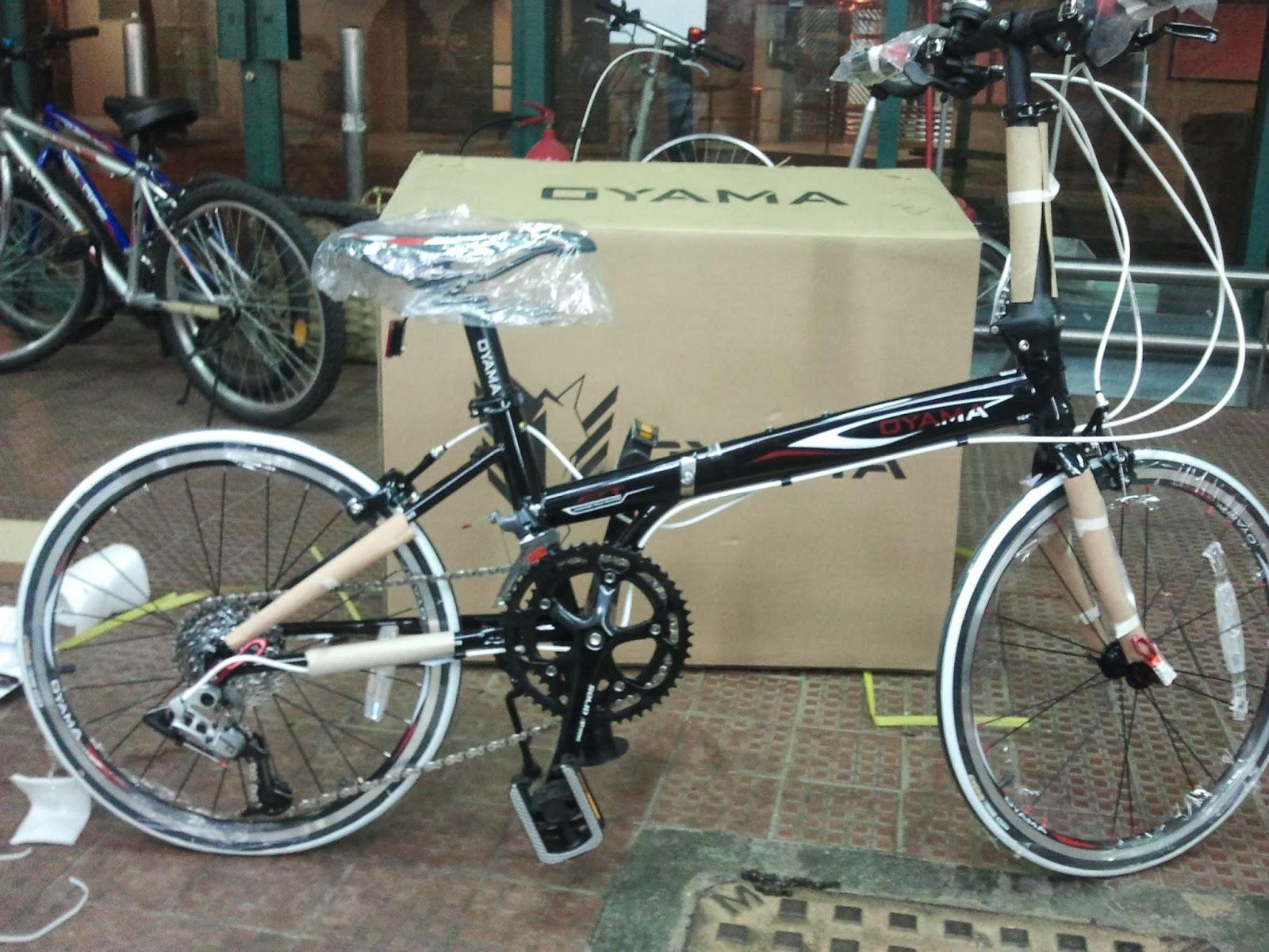 Beverly Cycle 富康單車: 將軍澳富康單車 - OYAMA CR16 摺車 (最新版)