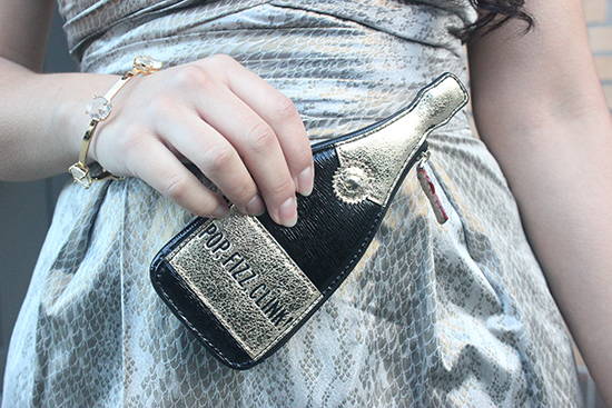 Kate Spade Bubble Over Champagne Coin Purse | Will Bake for Shoes