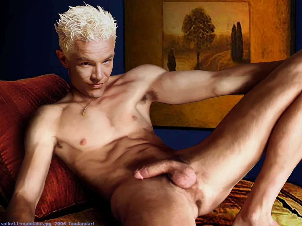 spike nude marsters James