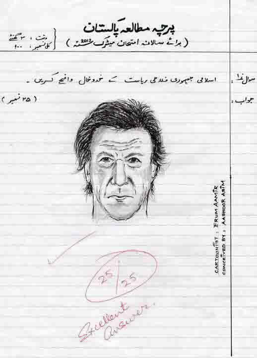 Pakistan Politicians Funny Pictures [Imran Khan] 2012