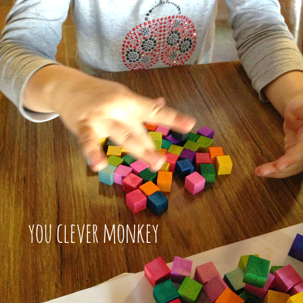 How to make your own mini magnetic blocks.  A simple DIY guide along with plenty of ideas for play | you clever monkey