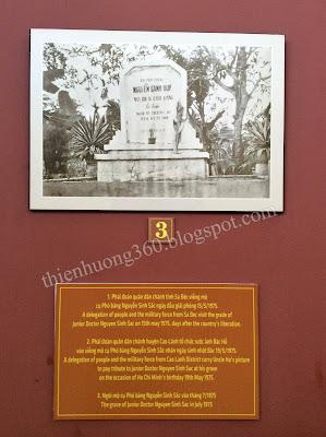 Ngôi mộ cụ Phó bảng Nguyễn Sinh Sắc vào tháng 7/1975