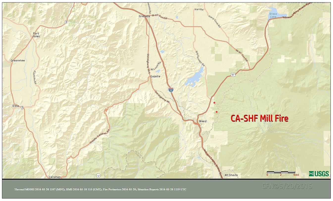 Cfn California Fire News Cal Fire News Ca Shf Mill Fire