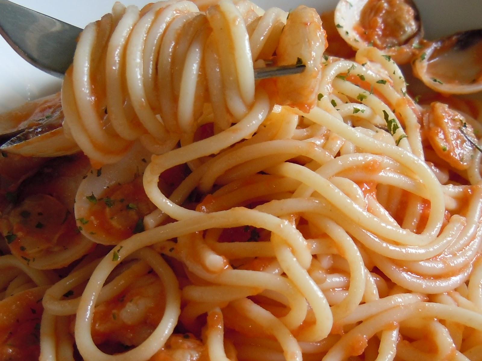 El blog de debora mis recetas del dia a dia espaguetis - Espaguetis con almejas ...