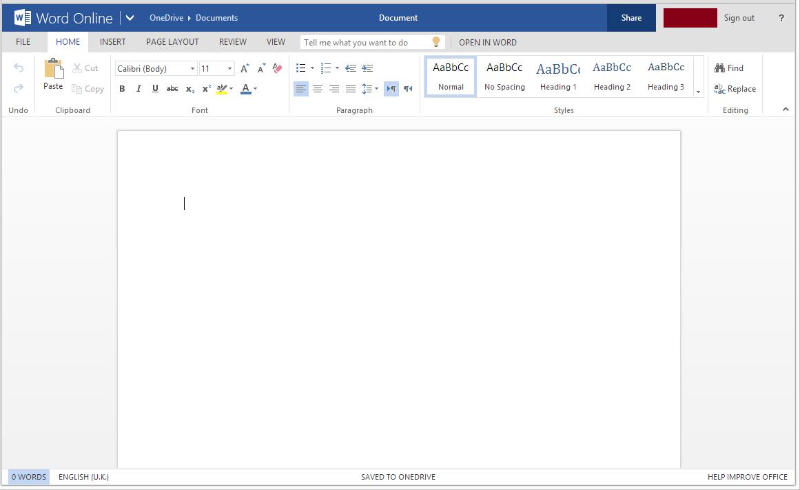 Free Office Online - Google Chrome Apps 6