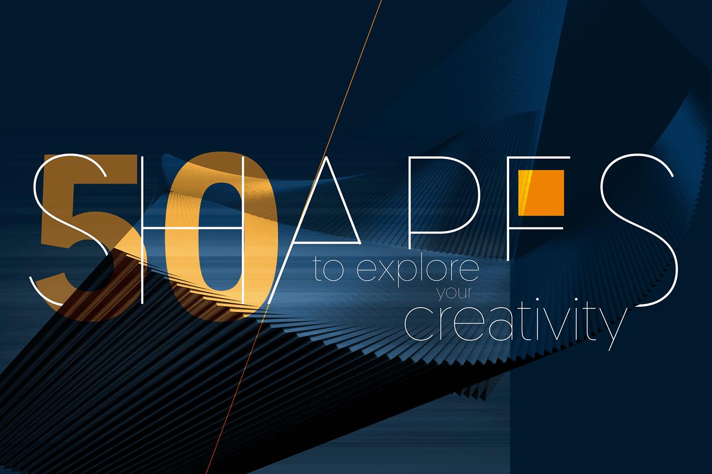 Chia sẻ 50+ Abstract 3D Shapes tuyệt đẹp cho photoshop