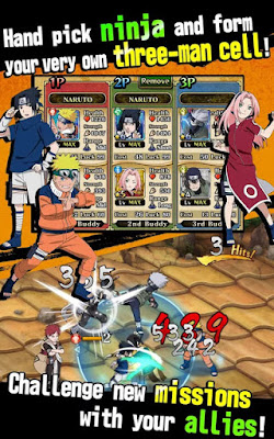 Download Ultimate Ninja Blazing Mod Apk Terbaru For Android