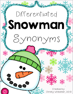 https://www.teacherspayteachers.com/Product/Differentiated-Snowman-Synonyms-983099