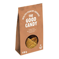 The Good Candy Barre confiseur sésame bio