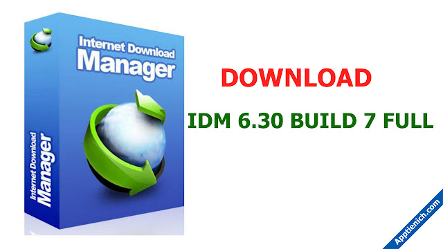 Download IDM 6.30Build 7 FULL
