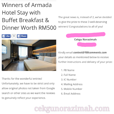 Hotel armada pj, buffet dinner at armada hotel, buffet breakfast at armada hotel, hotel armada, 100comments